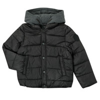 Textiel Jongens Dons gevoerde jassen Ikks CORAIL Zwart