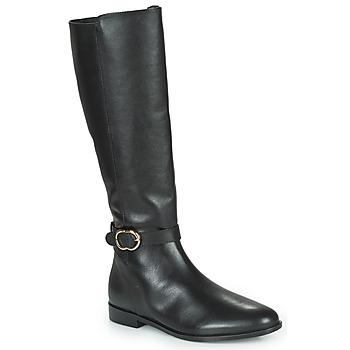 Schoenen Dames Hoge laarzen Minelli SELIRA Zwart
