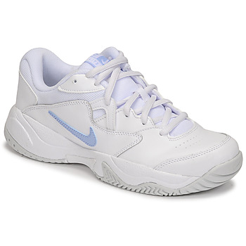 Schoenen Dames Lage sneakers Nike WMNS NIKE COURT LITE 2 Wit / Zilver