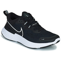 Schoenen Heren Running / trail Nike NIKE REACT MILER 2 Zwart / Wit