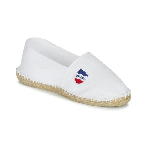 Schoenen Espadrilles 1789 Cala UNIE BLANC Wit