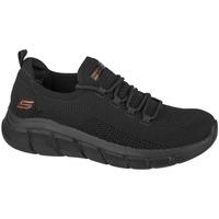 Schoenen Dames Lage sneakers Skechers Bobs Sport B Flex-Color Connect Noir