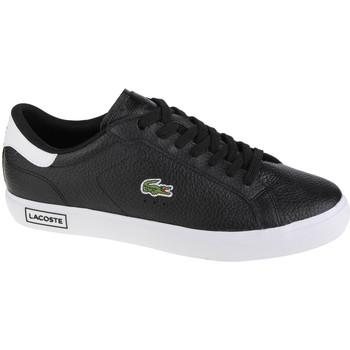 Schoenen Heren Lage sneakers Lacoste Powercourt Noir
