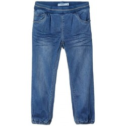 Textiel Kinderen Straight jeans Name it PANTALÓN VAQUERO NIÑA  13181482 Blauw