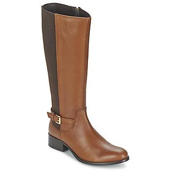 Schoenen Dames Hoge laarzen Balsamik MIRA Caramel