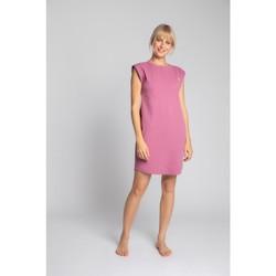 Textiel Dames Korte jurken Lalupa LA033 Geribd katoenen Loungewear jurk - heather