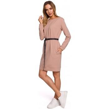 Textiel Dames Korte jurken Moe M591 Cargo Pocket Joggers - zwart