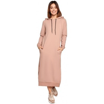 Textiel Dames Lange jurken Be K092 Schouderbandjurk - zwart