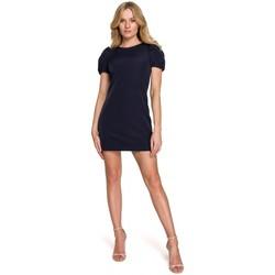 Textiel Dames Korte jurken Makover K096 Mini jurkje met overslag topje - model 1