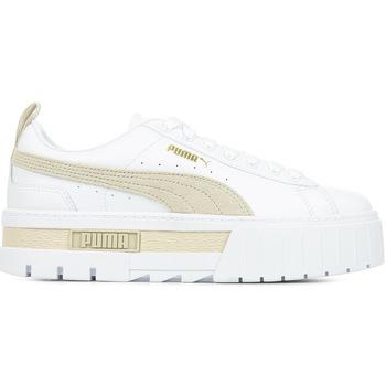 Schoenen Dames Lage sneakers Puma Mayze Lth Wn's Wit