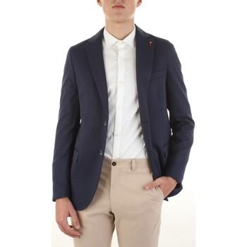 Textiel Heren Jasjes / Blazers Mulish FREGENE-GKS1900 Blu