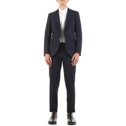 Textiel Heren Kostuums Mulish DNA-AB7211 Blu