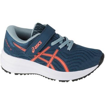 Schoenen Kinderen Running / trail Asics Patriot 12 PS Bleu