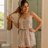 Textiel Dames Jumpsuites / Tuinbroeken Céleste NEROLI Ecru