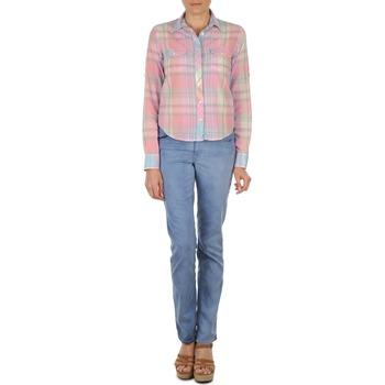Straight Jeans Gant  DANA SPRAY COLORED DENIM PANTS