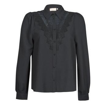 Textiel Dames Overhemden Moony Mood ABBECOURS Zwart