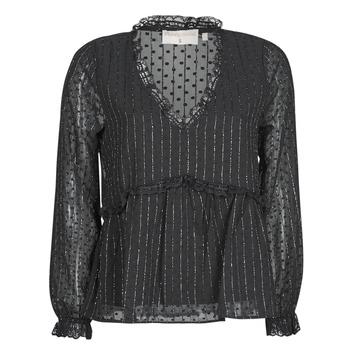 Textiel Dames Tops / Blousjes Moony Mood ABBENANT Zwart