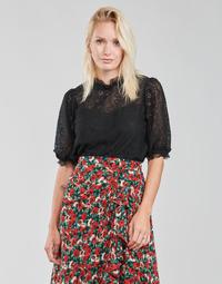 Textiel Dames Tops / Blousjes Moony Mood ABBEILHANS Zwart