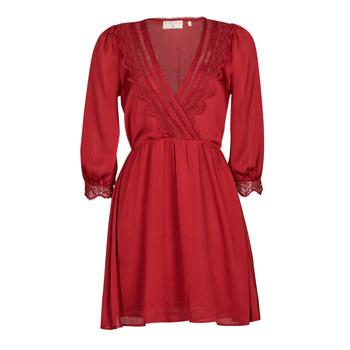 Textiel Dames Korte jurken Moony Mood ABIDOSE Rood