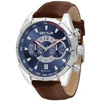 Horloges & Sieraden Heren Analoge horloges Sector - R3271794 Bruin