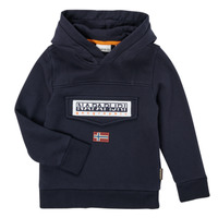 Textiel Jongens Sweaters / Sweatshirts Napapijri BURGEE Marine