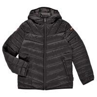 Textiel Jongens Dons gevoerde jassen Napapijri AERONS Zwart