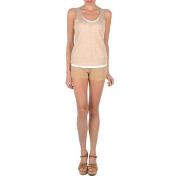 Textiel Dames Korte broeken / Bermuda's Majestic SOLENE Beige