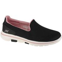 Schoenen Dames Instappers Skechers Go Walk 5-Ocean Sparkle Noir