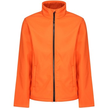 Textiel Heren Windjack Regatta RG627 Magma Oranje/Zwart