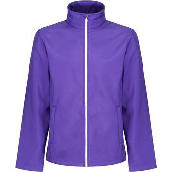 Textiel Heren Wind jackets Regatta RG627 Paars/Zwart