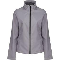 Textiel Dames Wind jackets Regatta TRA629 Steengries/Zwart