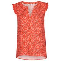 Textiel Dames Tops / Blousjes Only ONLVIOLETTE Oranje