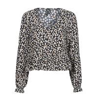 Textiel Dames Tops / Blousjes Vero Moda VMSALINA Zwart