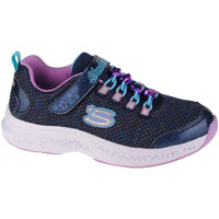 Schoenen Kinderen Lage sneakers Skechers Star Speeder-Jewel Kicks Bleu marine