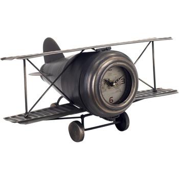 Wonen Klokken Signes Grimalt Vliegtuig Tafelklok Negro