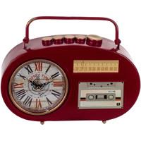 Wonen Klokken Signes Grimalt Transistor Desktop Klok Rojo