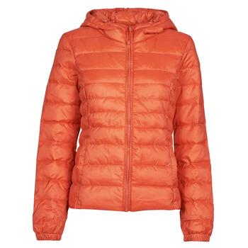 Textiel Dames Dons gevoerde jassen Only ONLTAHOE Oranje