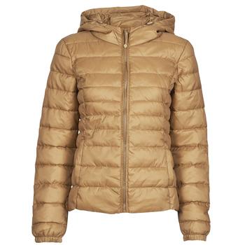 Textiel Dames Dons gevoerde jassen Only ONLTAHOE Bruin