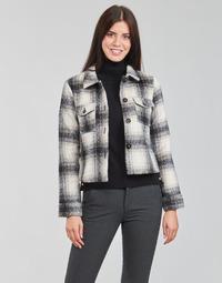 Textiel Dames Jasjes / Blazers Only ONLLOU Ecru / Zwart