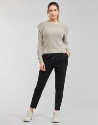 Textiel Dames Chino's Only ONLPOPSWEAT Zwart
