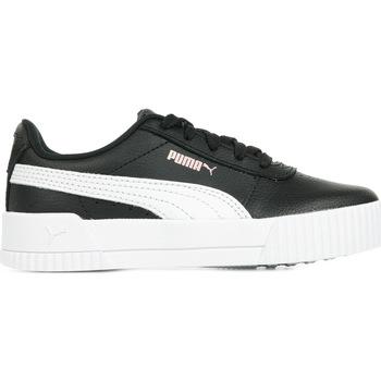 Schoenen Meisjes Lage sneakers Puma Carina L PS Zwart
