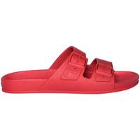 Schoenen Kinderen Leren slippers Cacatoès Rio de janeiro Rood
