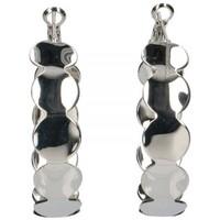 Horloges & Sieraden Dames Oorbellen Luna Collection 56290 Zilver