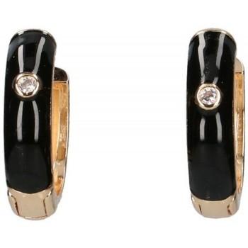 Horloges & Sieraden Dames Oorbellen Luna Collection 57413 zwart