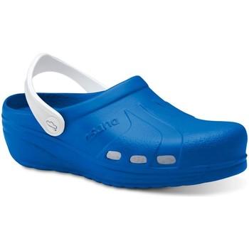 Schoenen Heren Klompen Feliz Caminar Zuecos Sanitarios Asana - Blauw