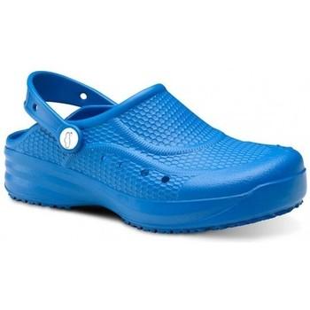 Schoenen Heren Klompen Feliz Caminar Zueco Laboral Flotantes Evolution - Blauw