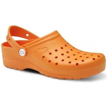 Schoenen Heren Klompen Feliz Caminar Zuecos Sanitarios Flotantes Gruyere - Oranje