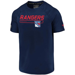 Textiel Heren T-shirts korte mouwen Fanatics  Blauw