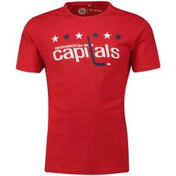 Textiel Heren T-shirts korte mouwen Fanatics  Rood