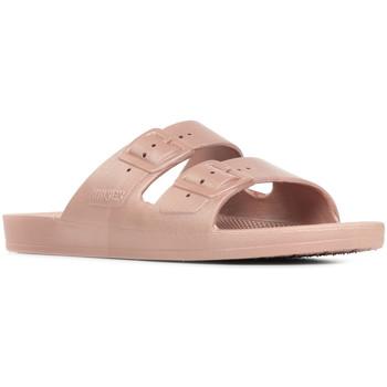 Schoenen Dames Leren slippers Freedom Moses Venus Violet